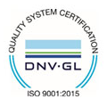 Quality System Certification ISO 9001:2015 Logo